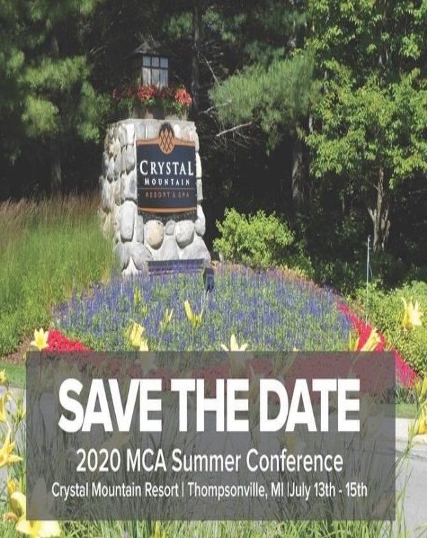 MCA 2019 Summer Conference - Save the Date